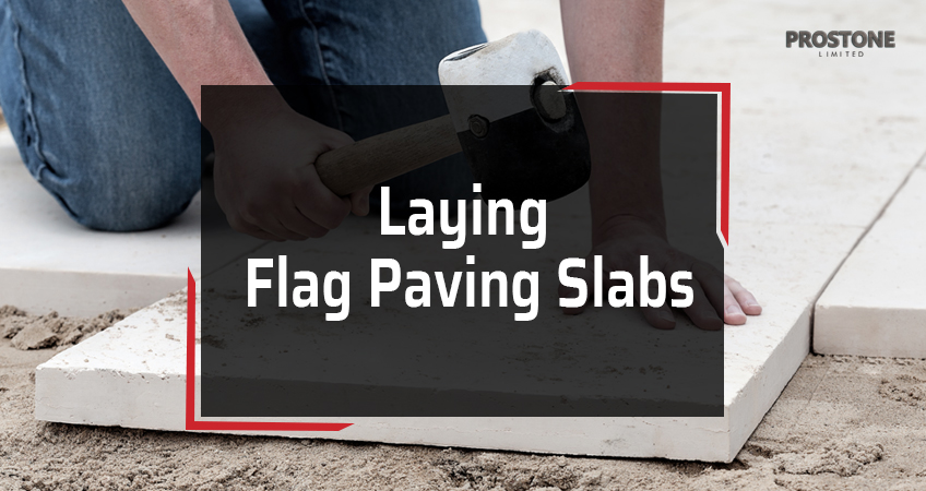 Laying Flag Paving Slabs