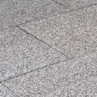 dusky grey granite paving
